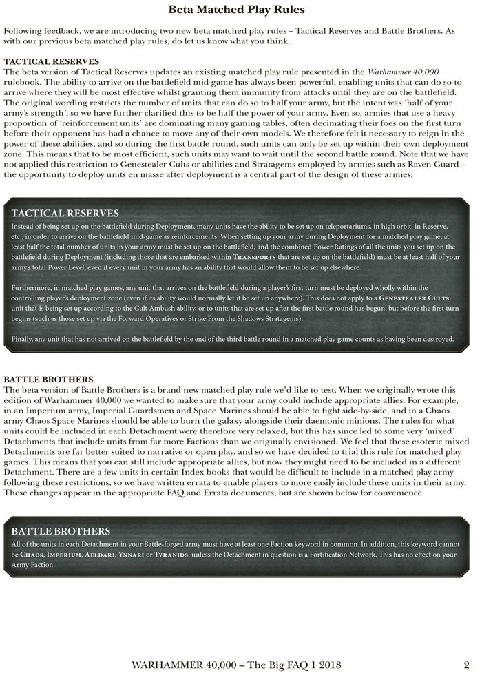 Вышел глобальный FAQ для Warhammer 40000 Warhammer 40k, FAQ, Wh miniatures, Wh News, Длиннопост