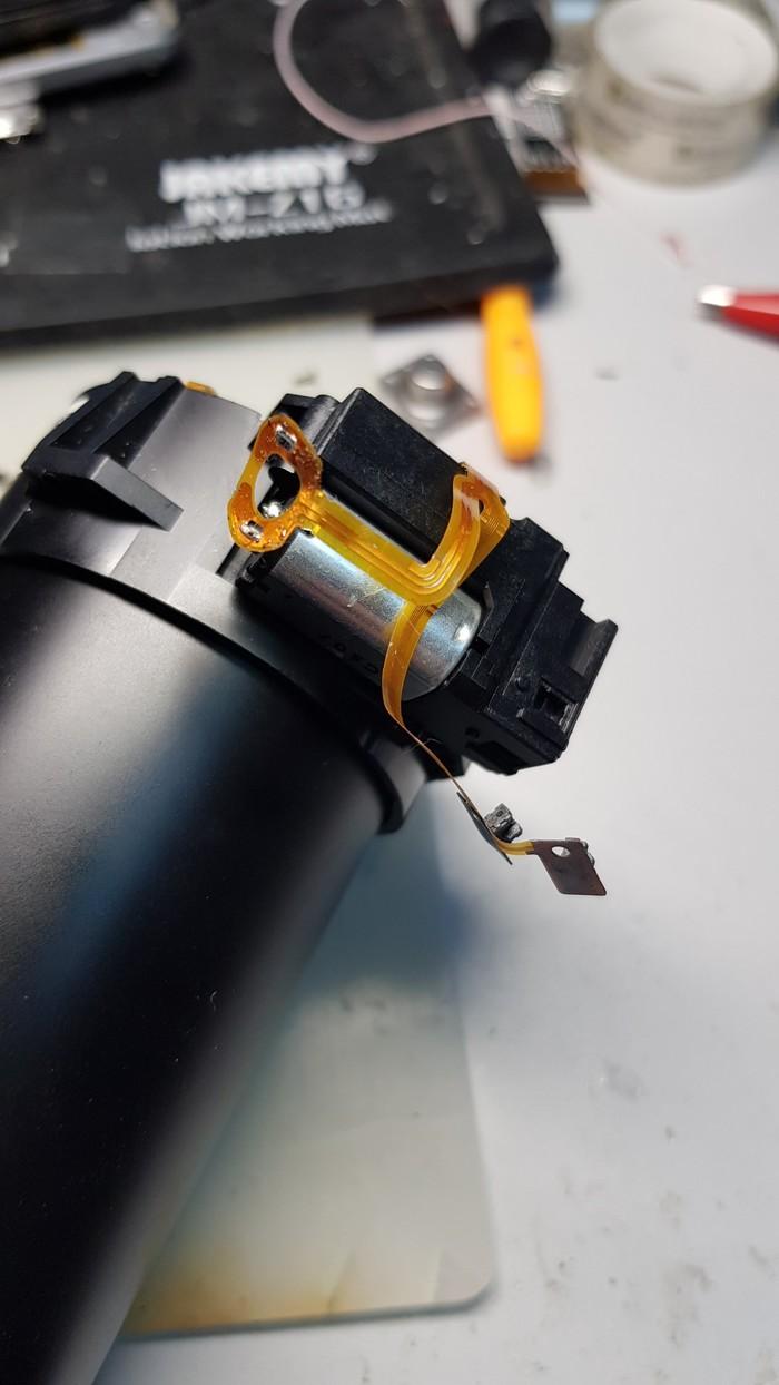 Nikon P510 ремонт объектива