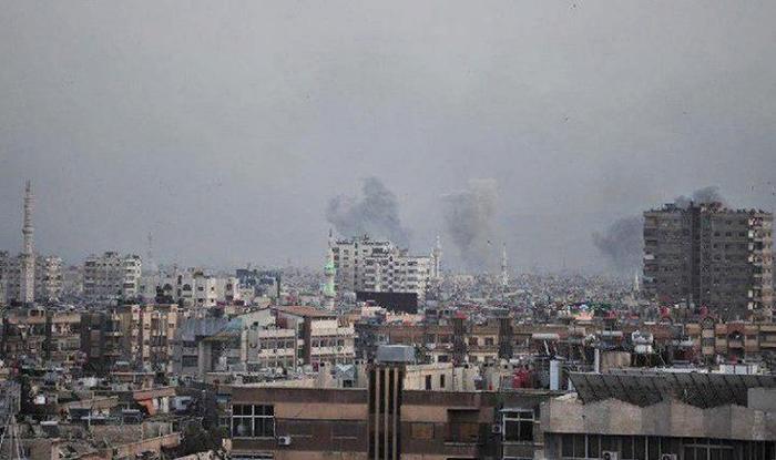 Сирия начинает обстрел ИГИЛ в Дамаске Политика, ИГИЛ, Перевод, Война в сирии