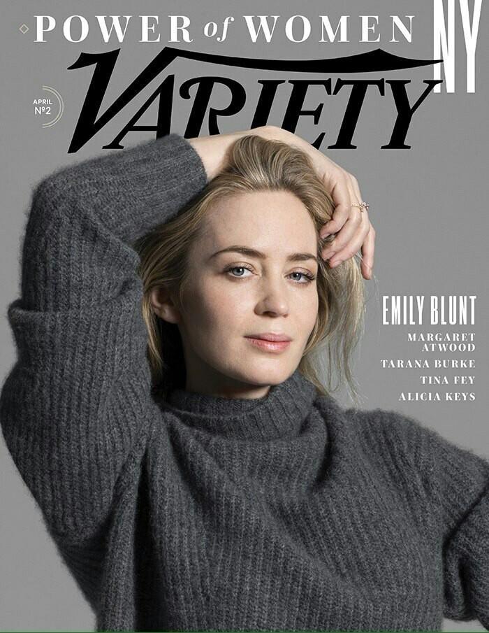 Эмили Блант в новом номере Variety. Эмили Блант, Актриса, Журнал, Фотография, Длиннопост, Актеры