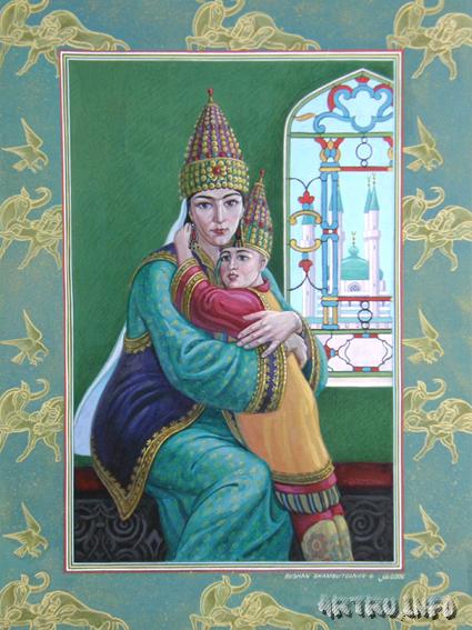 Утямыш-Гирей – хан-младенец и падение Казанского юрта. История, Казанское ханство, Длиннопост