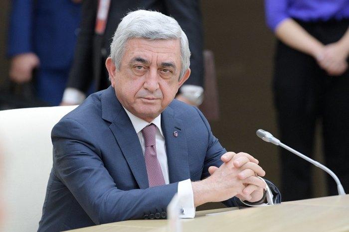 Премьер Армении ушел в отставку Политика, Общество, Армения, Серж Саргсян, Отставка, Интерфакс