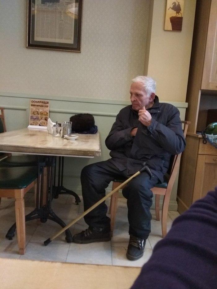Доброты пост Доброта, Бабушки и дедушки, Кафе