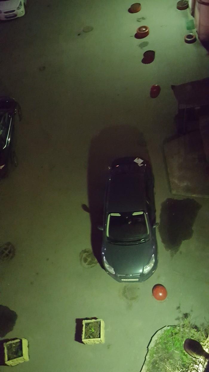 Камушек обыкновенный. Парковка, Авто, Соседи, Надоело, Санкт-Петербург, Длиннопост