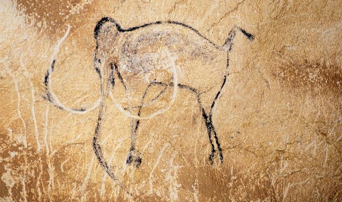 Мамонты в изобразительном искусстве древнего человека Мамонт, Первобытные люди, Рисунок на стене, Палеолит, Ледниковый период, Пещера, Каменный век, Длиннопост