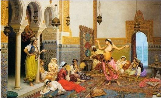КАКИЕ ЗАКОНЫ В ГАРЕМЕ гарем, восток, султан, евнухи, длиннопост