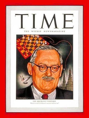 Краткий курс истории СССР по обложкам журнала TIME,       1946-1953 г.г.