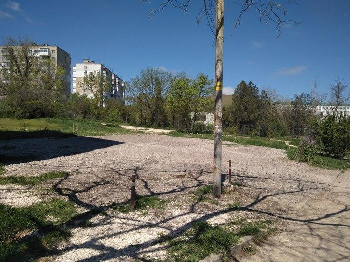 Самозахват парковок в Крыму (г. Керчь) Самозахват, Мастер парковки, Крым, Длиннопост