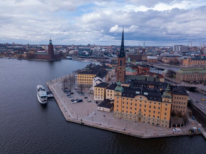 Сверхвысокие полеты на дроне: Стокгольм Квадрокоптер, Dji mavic pro, Стокгольм, Длиннопост