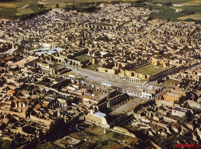 Коротко о гибели Помпеи помпеи, Археология, Катастрофа, извержение вулкана, история, длиннопост
