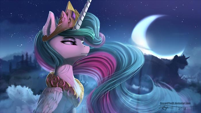 Good intentions My little pony, Princess Celestia, Ponyart