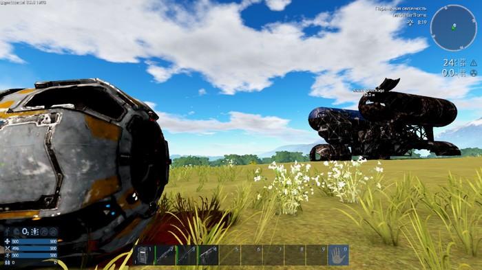 """Empyrion 8 Alpha - выживаем по принципу """"хоббит-шахтёр"""" Empyrion, Игры, Песочница, Выживание, Компьютерные игры, Длиннопост"""