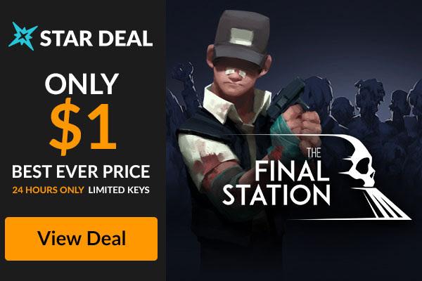 STAR DEAL -The Final Station-93% $1.00 [FANATICAL] Инди, Bundlestars, Fanatical, StarDeal, Гифка