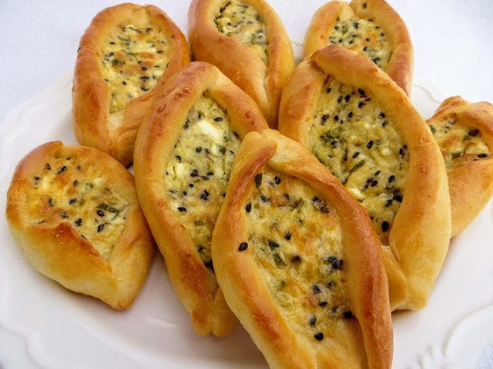 Ливанские пирожки с сыром Пирожок, Выпечка, Начинка, Сыр, Брынза, Вкусно, Приготовление, Рецепт, Видео, Длиннопост