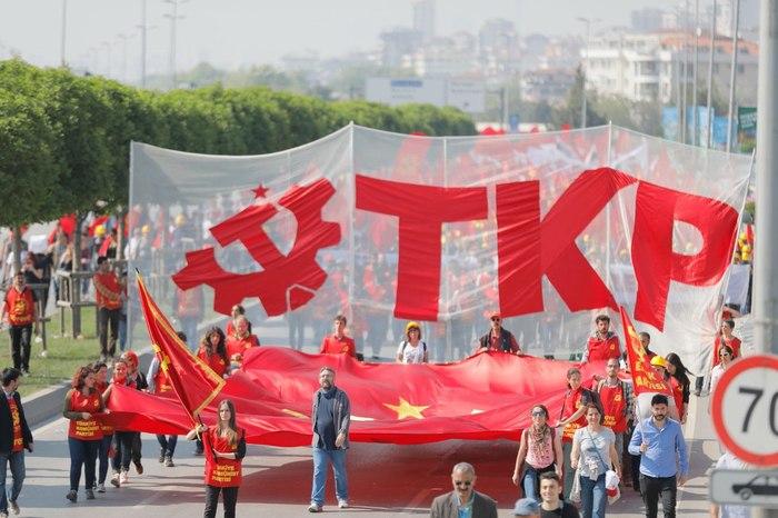 1 мая 2018. Азия. [3] 1 мая, Красный первомай, Коммунизм, Карл Маркс, Ленин, Турция, Шри-Ланка, Политика, Длиннопост