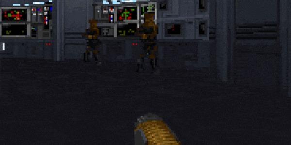 Вспоминая старые игры: Star Wars: Dark Forces Вспоминая старые игры, Star wars dark force, Кайл катарн, Моё, Длиннопост, Гифка, Star wars, Звездные войны: изгой один