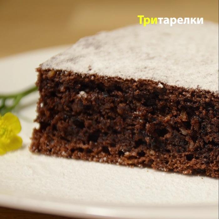 Шоколадно-ореховый творожный пирог Пирог с творогом, Творожный пирог, Рецепт, Пирог, Видео рецепт, Видео, Длиннопост