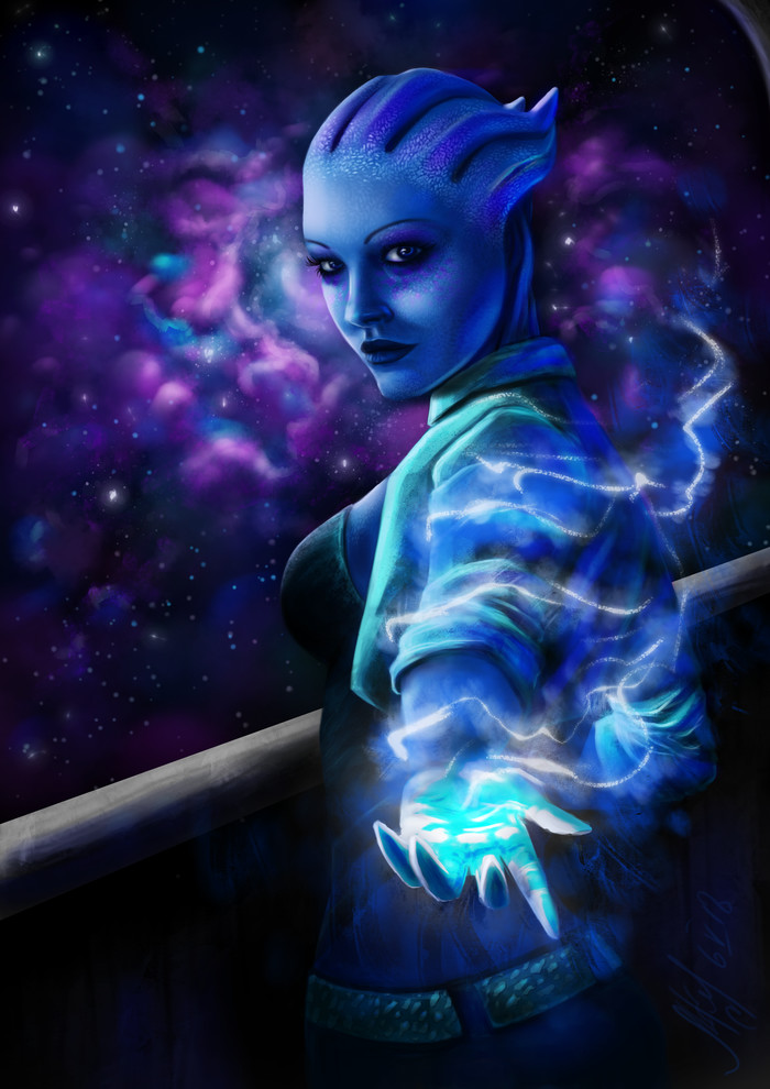 Лиарочка Mass effect, Liara T'Soni, Лиара, Азари