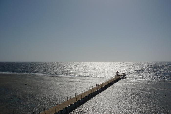 Стальные оттенки раннего утра Красное море, Фотография