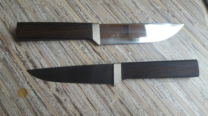 Пара кухонных ножей Нож, Печак, Кухонные ножи, Длиннопост