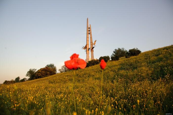 """Помним: мемориал """"Журавли"""" Невернувшимся, Журавли, Великая Отечественная война, Помним, Длиннопост"""