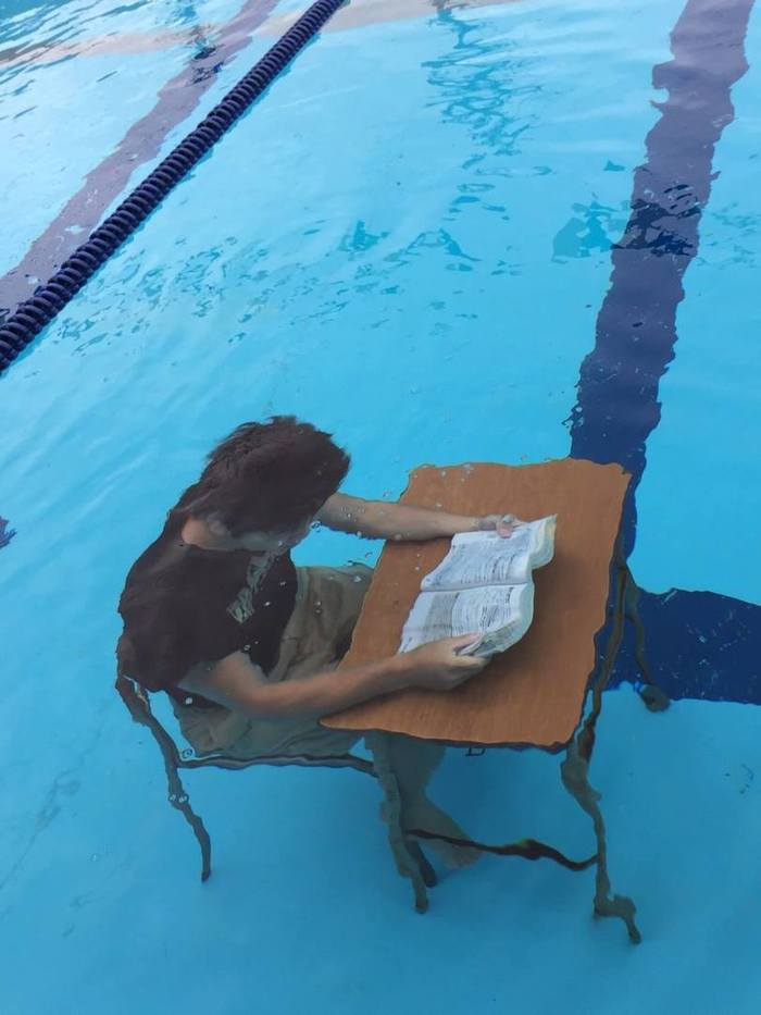 Deep learning Бассейн, Дипломная работа, Вода