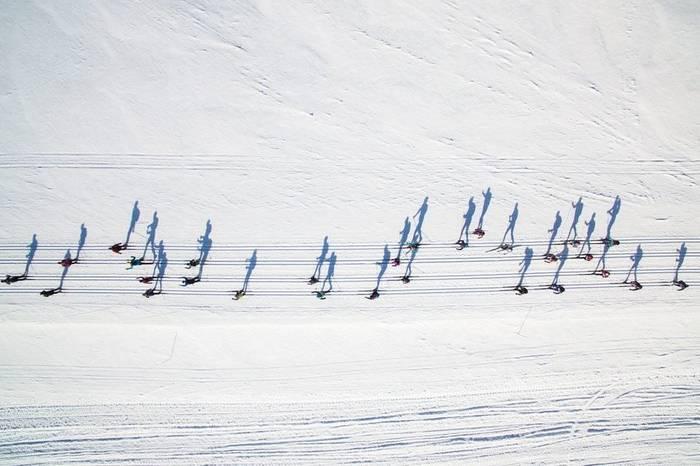 Лыжный креатив