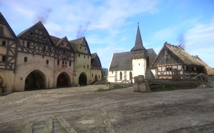 Kingdom Come - игра и настоящее время - 1 часть. Фотография, Чехия, Небольшие города Чехии, Kingdom Come: Deliverance, Длиннопост
