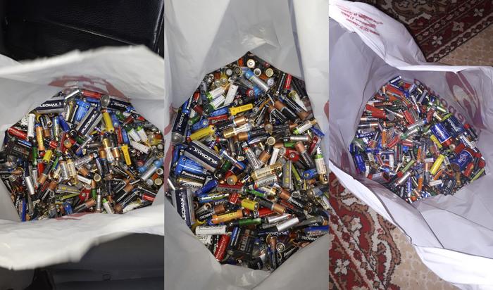 Каждый по батарейке Батарейка, Утилизация, Экология, Дети, Длиннопост