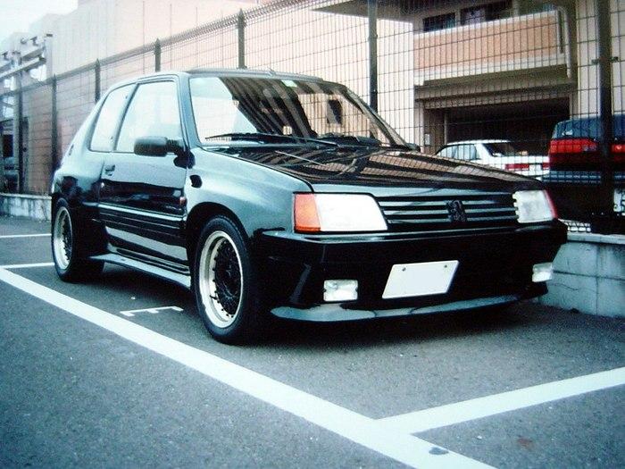 Peugeot 205 из Японии Peugeot, Тюнинг, Япония, Авто, Длиннопост