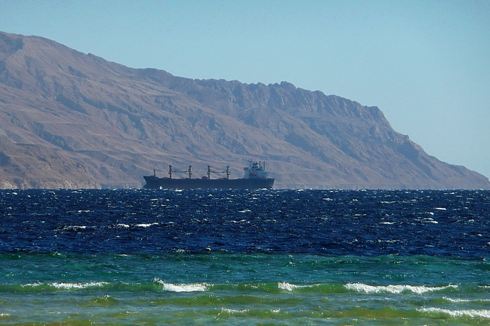 """Шерстяное"" море Красное море, Акаба, Остров Тиран"