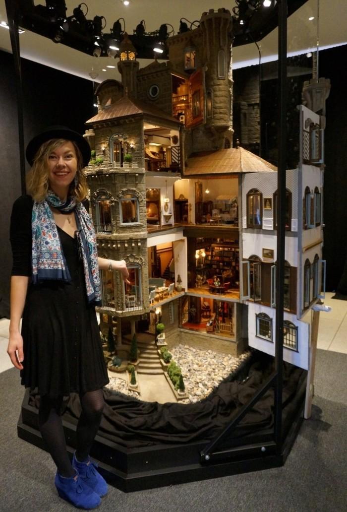 Astolat Dollhouse Castle-самый дорогой кукольный домик в мире Кукольный дом, Текст, Astolat Dollhouse Castle, Интересное, Картинка с текстом, Длиннопост