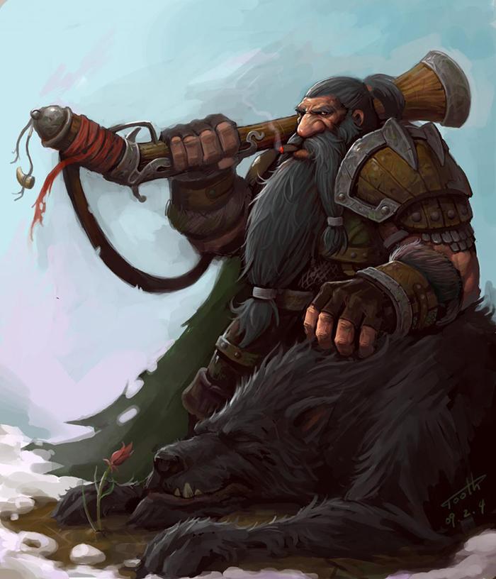 Вкратце о дворфах Длиннопост, Расоведение Баюна, World of Warcraft, Дворфы