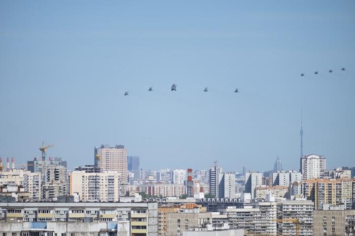Немного вертушек 9.05 Вертолёт, Парад победы, Парад, Авиация, Длиннопост