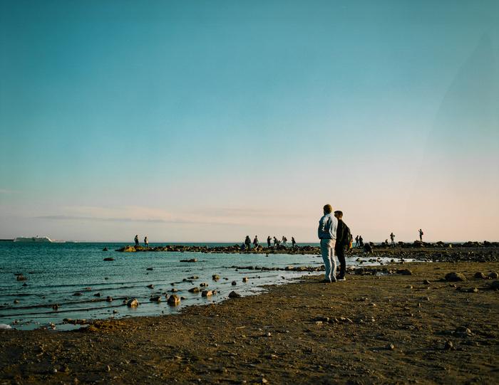 Два берега одного залива Берег, Залив, Санкт-Петербург, Плёнка, Плёнка 120
