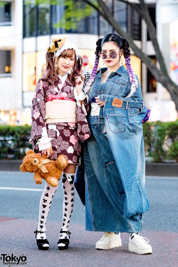 Чудесно упоротое улично-японское Японская мода, Необычная одежда, Интересное, Длиннопост