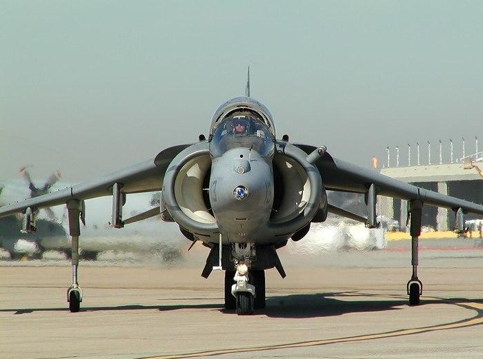 McDonnell Douglas AV-8B Harrier II Харриер, Истребитель, Ввп, Авиация, Длиннопост