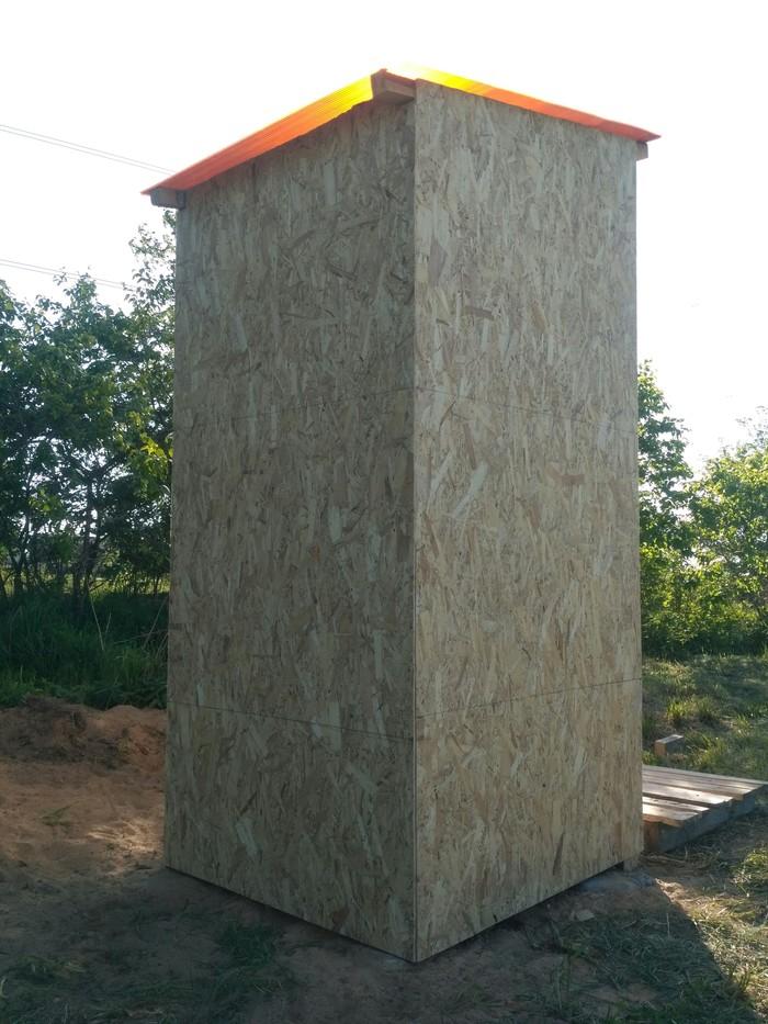 Как построить уличный туалет