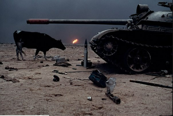 Кувейт, 1991 год. Кувейт, Война, Фотография, Длиннопост