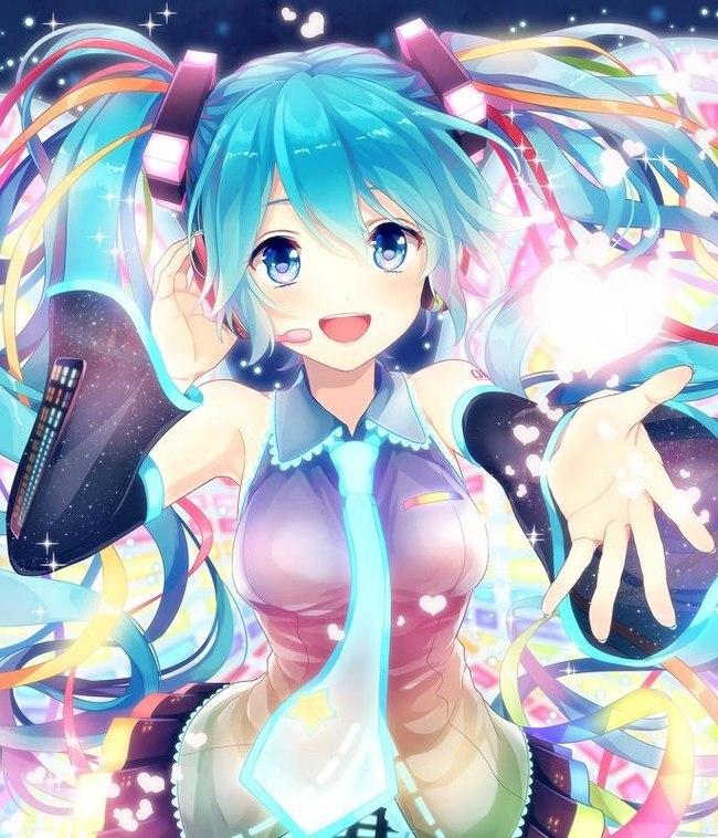 Иди со мной в мой мир! Аниме, Не аниме, Hatsune Miku, Vocaloid, Кавай, Anime Art