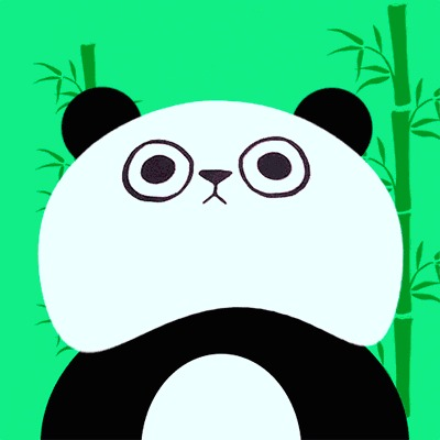 Подруга скинула фотку футболки с котом, но я увидел панду: Гифка, Панда, Ниндзя, Подмигивание