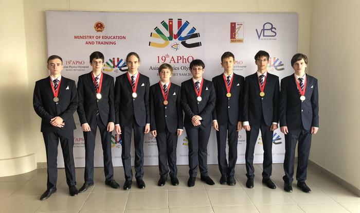Российские школьники завоевали шесть золотых медалей на Азиатской олимпиаде по физике Россия, Олимпиада, Победа, Физика, Медали, Школьники, Азия, Поздравление, Длиннопост