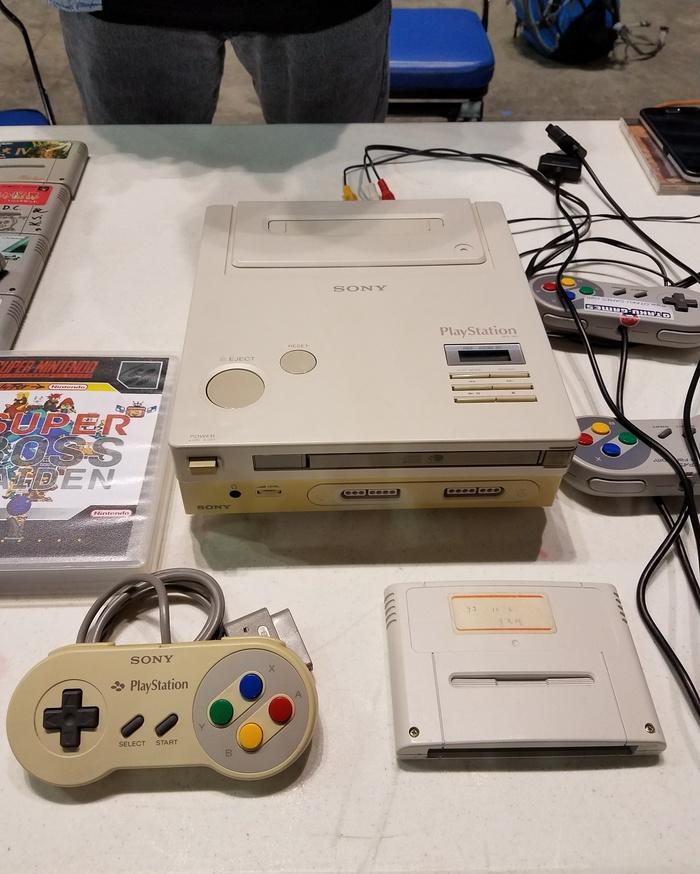 Последний сохранившийся прототип Nintendo Playstation Snes, Playstation, Видеоигра, Nintendo