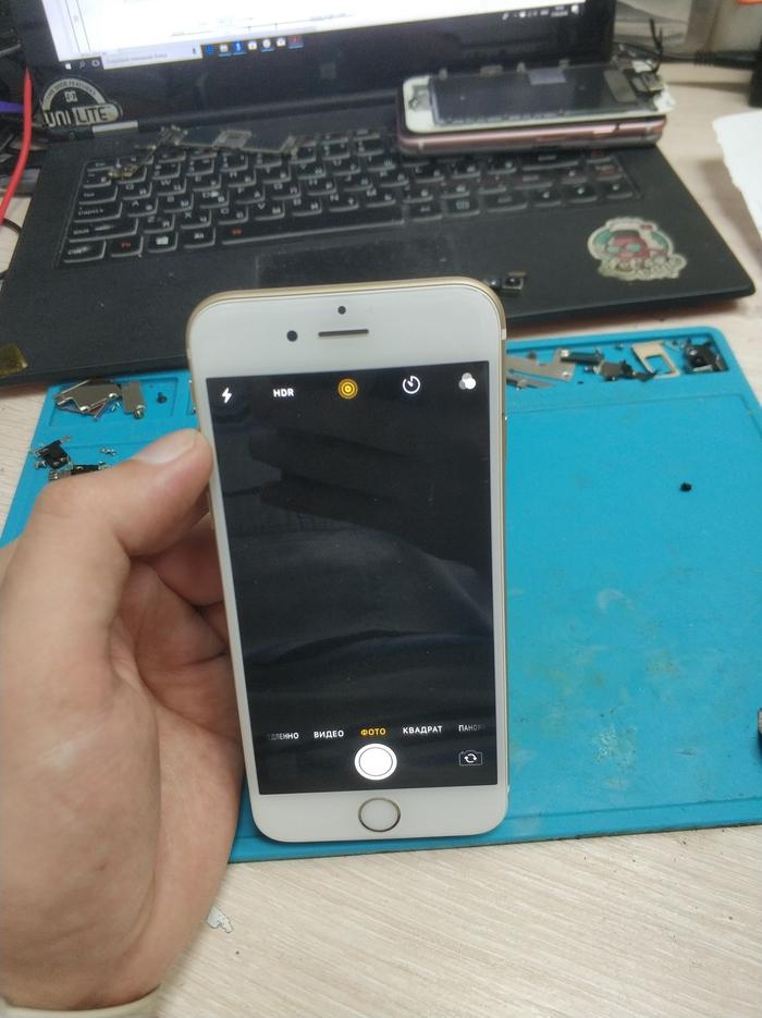 Ремонт iPhone 6s. Не работают обе камеры Ремонт, Ремонт техники, Iphone 6s, Apple, Длиннопост, Моё
