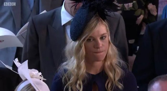 Бывшая девушка принца Гарри стала мемом на его свадьбе Принц Гарри, Челси Дейви, Королевская свадьба, Обида, Длиннопост