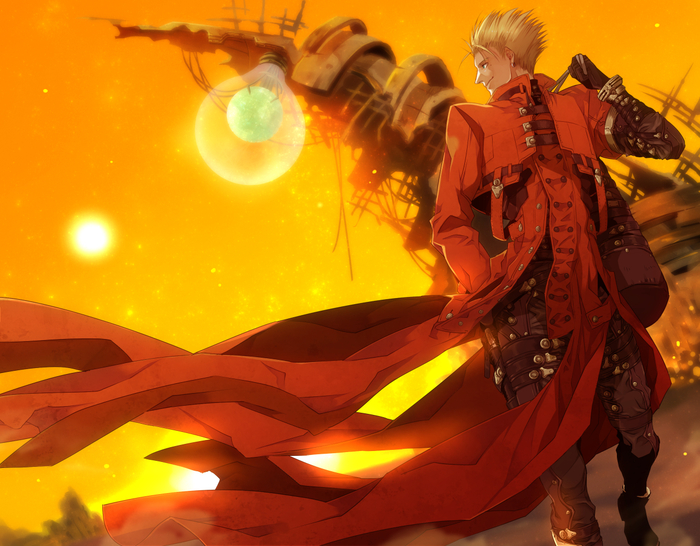 Вэш Ураган Аниме, Anime Art, Trigun, Vash the Stampede