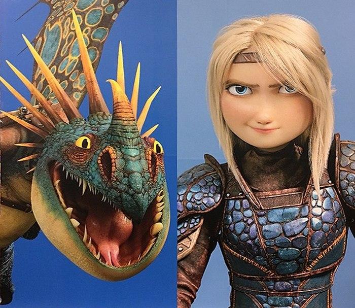 """Официальные постеры к """"Как приручить дракона 3"""" Мультфильмы, DreamWorks, Длиннопост"""