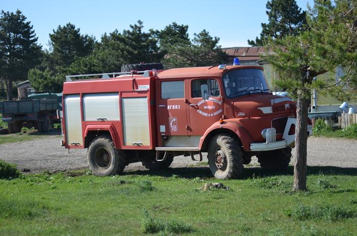 Старичок до сих пор на службе Авто раритет, Ай-Петри, Прогулка, Пожарная машина, Длиннопост