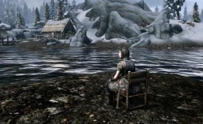 Человек-стул: пользователь Reddit попросил сделать очень странный мод для Skyrim, и ему не отказали Skyrim, Лидия, Стул, Моды, Reddit, Длиннопост