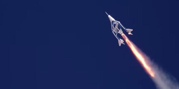 Космоплан Virgin Galactic VSS Unity буравит небо Космос, Virgin Galactic, SpaceShipTwo, Копипаста, Видео